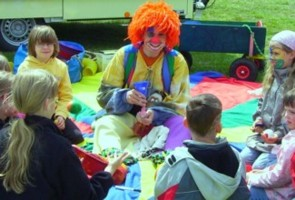 Kinderfest Clown mieten
